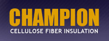 Champion Cellulos Fiber Insulation Logo